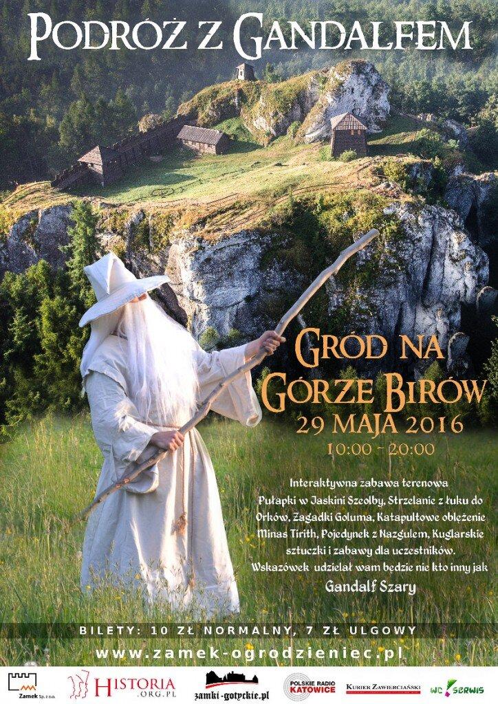 Podróż z Gandalfem na Górze Birów