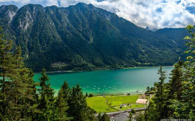 Alpejskie jezioro Achensee