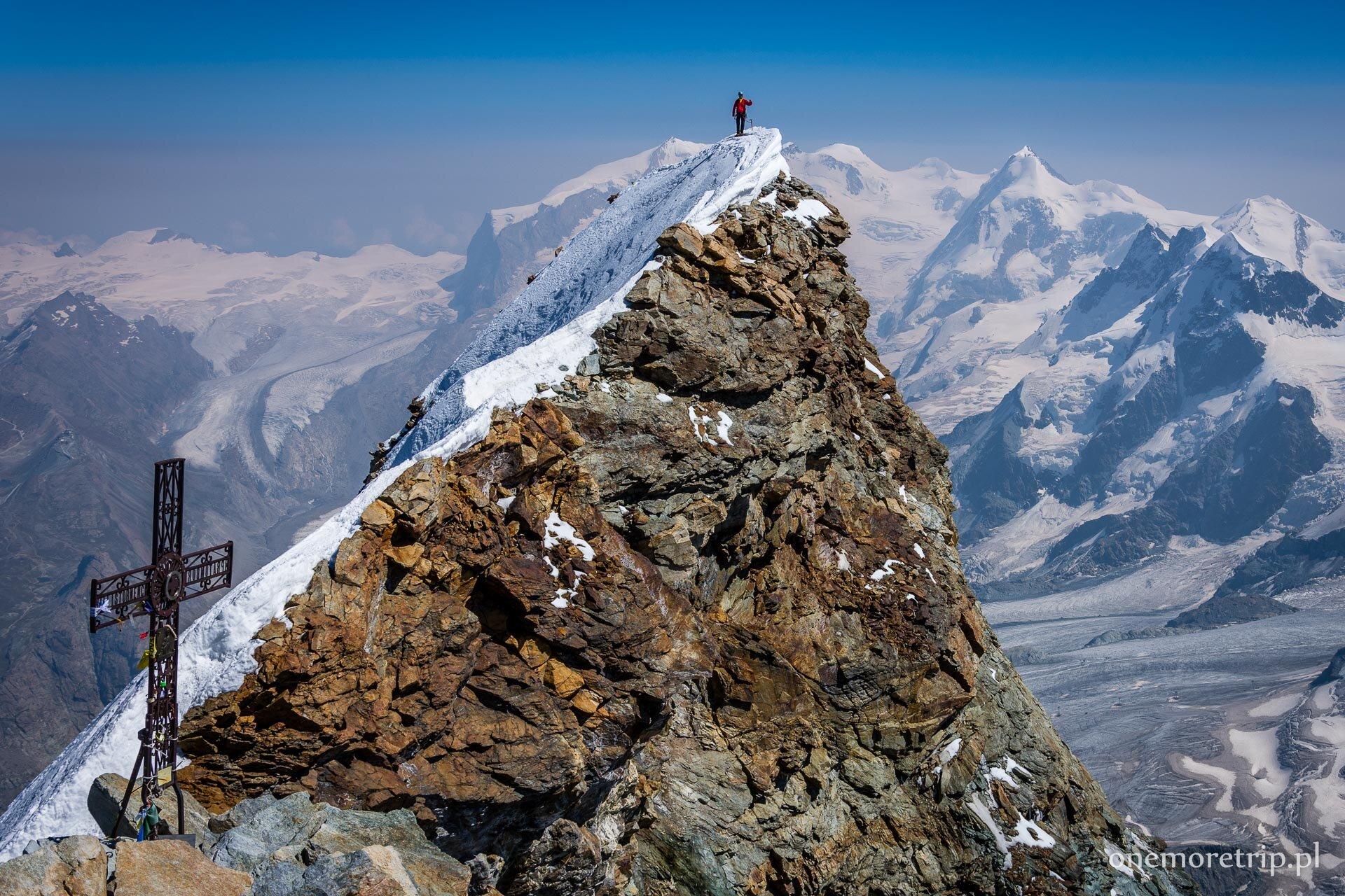 Wejście na Matterhorn granią Hornligrat