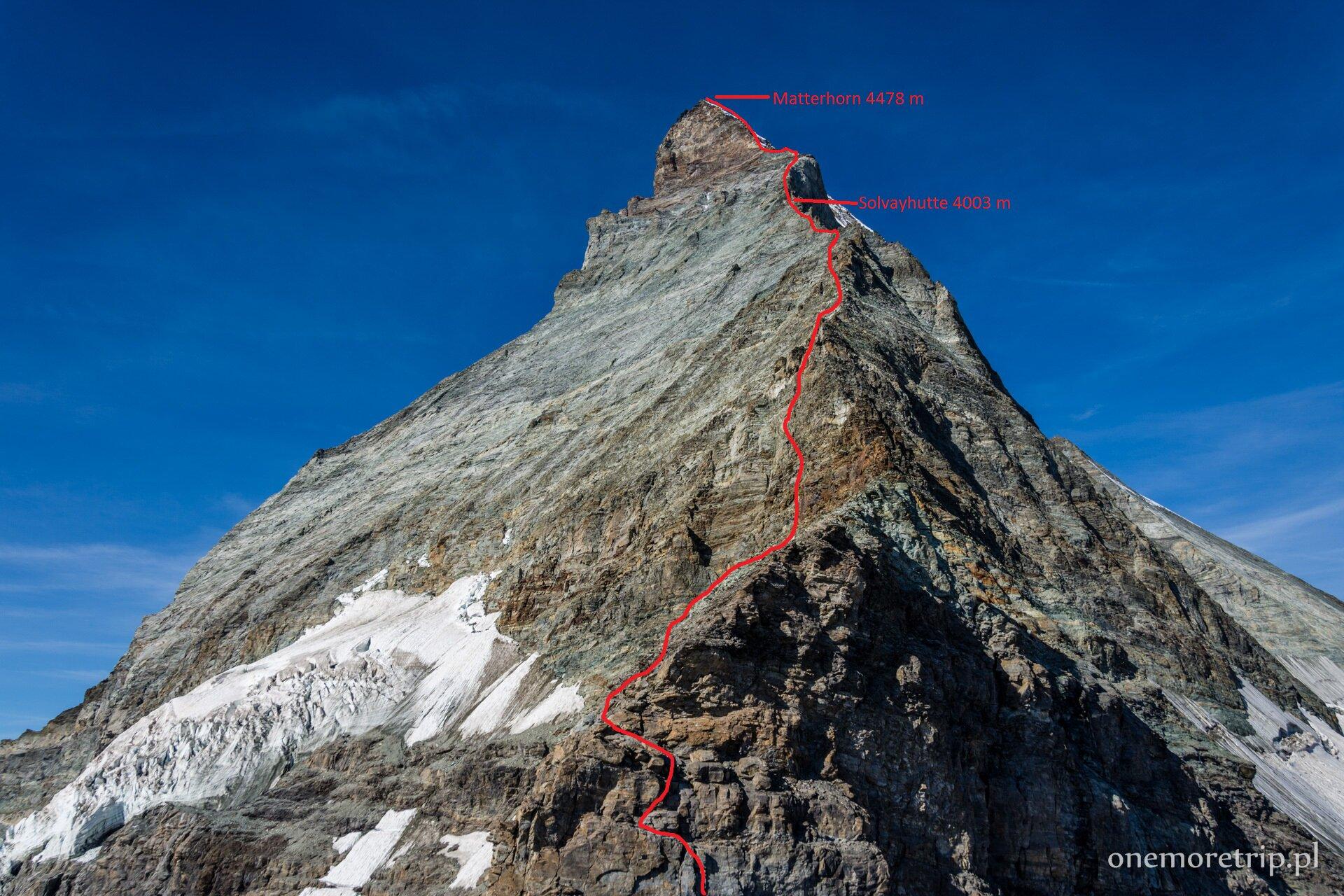 Matterhorn Hornligrat TOPO