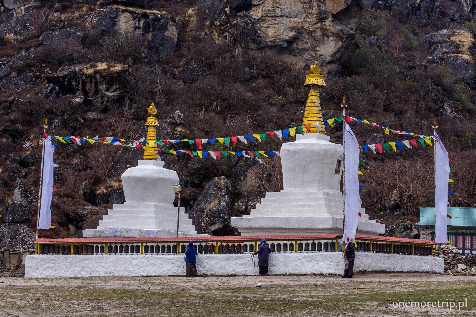 Czorten w Khumjung