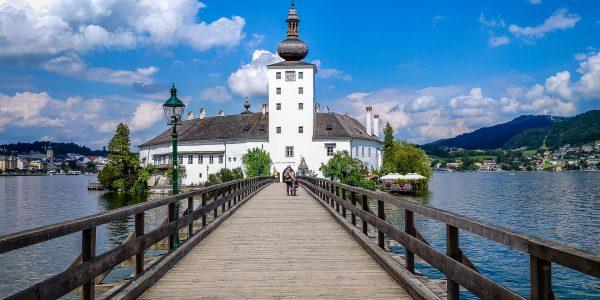 Austria: rowerem wokół jeziora Traunsee